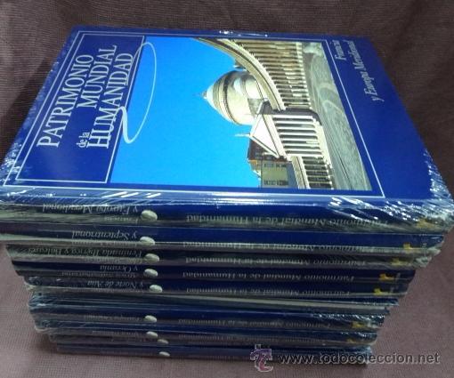 PATRIMONIO MUNDIAL DE LA HUMANIDAD. ED.RUEDA. 1O VOLUMENES. COMPLETA (Libros de Segunda Mano - Diccionarios)