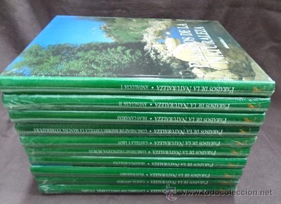 PARAÍSOS DE LA NATURALEZA-10 TOMOS OBRA COMPLETA. - ED RUEDA (Libros de Segunda Mano - Diccionarios)