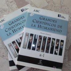 Diccionarios de segunda mano - DICCIONARIO DE GRANDES CIENTÍFICOS DE LA HUMANIDAD. 2 VOLUMENES. AÑO 1998. EDITORAL ESPASA, ABC. - 49762233