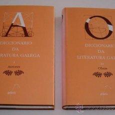 Diccionarios de segunda mano: DOLORES VILAVEDRA (COORD.). DICCIONARIO DA LITERATURA GALEGA. TOMOS I Y III. DOS TOMOS. RM69858. . Lote 50118896