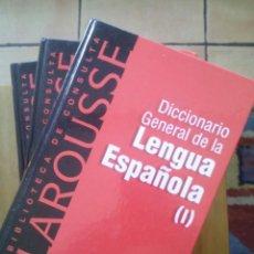 Diccionarios de segunda mano: DICCIONARIO GENERAL DE LA LENGUA ESPAÑOLA 3 TOMOS / EDICIÓN 2000 / EDITORIAL BRUGUERA. Lote 50159490