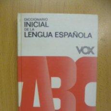 Diccionarios de segunda mano: DICCIONARIO INICIAL LENGUA ESPAÑOLA BOX 1986. Lote 50170103
