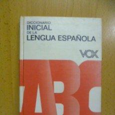 Diccionarios de segunda mano: DICCIONARIO INICIAL LENGUA ESPAÑOLA BOX 1986. Lote 50170118
