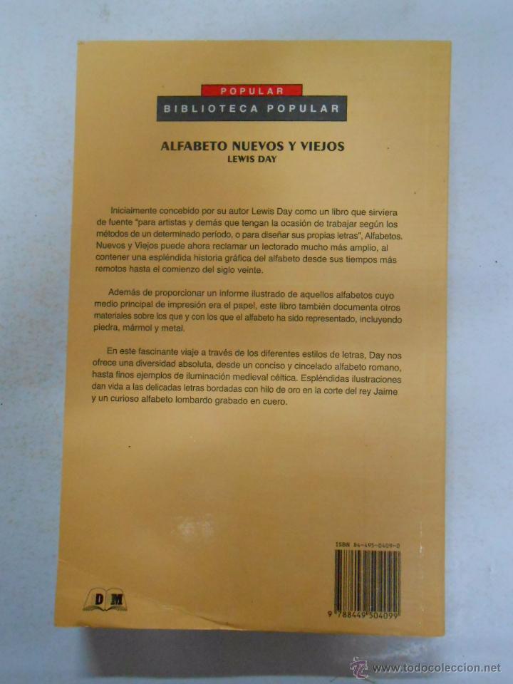 Diccionarios de segunda mano: Alfabetos nuevos y viejos. Lewis Day. TDK245 - Foto 2 - 50244887