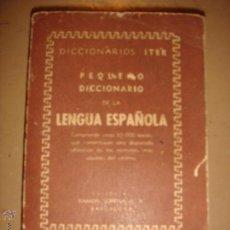 Diccionarios de segunda mano: DICCIONARIO LENGUA ESPAÑOLA . Lote 46791595