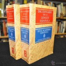 Diccionarios de segunda mano: DICCIONARIO DE LA LENGUA ESPAÑOLA - AG , HZ .- REAL ACADEMIA ESPAÑOLA - ESPASA CALPE - DI5. Lote 176238559