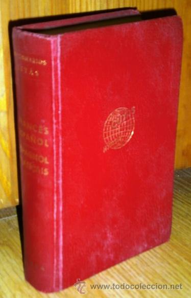 DICCIONARIO FRANCÉS-ESPAÑOL POR ARTURO CUYÁS ARMENGOL DE ED. HYMSA EN BARCELONA 1964 (Libros de Segunda Mano - Diccionarios)