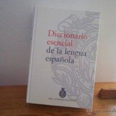 Diccionarios de segunda mano: DICCIONARIO ESENCIAL DE LA LENGUA ESPAÑOLA REAL ACADEMIA ESPAÑOLA. Lote 50981358