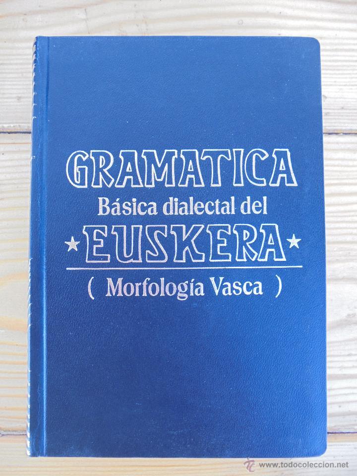 Diccionarios de segunda mano: GRAMATICA BASICA DIALECTAL DEL EUSKERA-MORFOLOGIA VASCA. AZKUE ALTUBE. DICCIONARIO VASCO. ARBELAITZ. - Foto 4 - 51019096