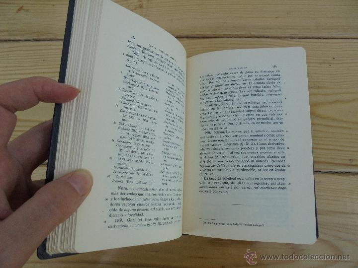 Diccionarios de segunda mano: GRAMATICA BASICA DIALECTAL DEL EUSKERA-MORFOLOGIA VASCA. AZKUE ALTUBE. DICCIONARIO VASCO. ARBELAITZ. - Foto 14 - 51019096