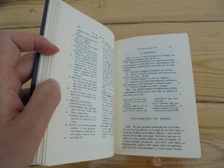 Diccionarios de segunda mano: GRAMATICA BASICA DIALECTAL DEL EUSKERA-MORFOLOGIA VASCA. AZKUE ALTUBE. DICCIONARIO VASCO. ARBELAITZ. - Foto 28 - 51019096