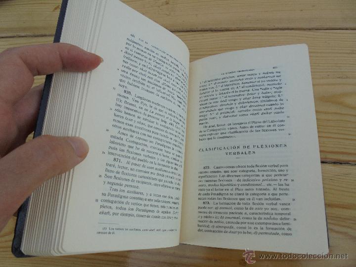 Diccionarios de segunda mano: GRAMATICA BASICA DIALECTAL DEL EUSKERA-MORFOLOGIA VASCA. AZKUE ALTUBE. DICCIONARIO VASCO. ARBELAITZ. - Foto 30 - 51019096