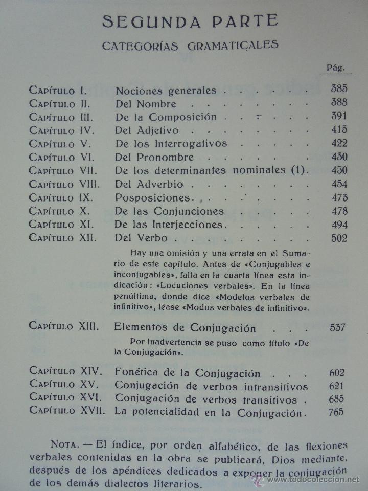Diccionarios de segunda mano: GRAMATICA BASICA DIALECTAL DEL EUSKERA-MORFOLOGIA VASCA. AZKUE ALTUBE. DICCIONARIO VASCO. ARBELAITZ. - Foto 33 - 51019096