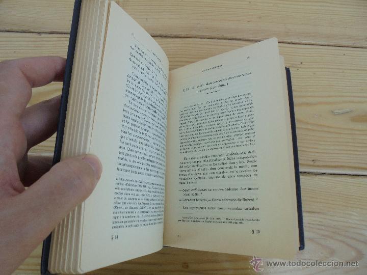 Diccionarios de segunda mano: GRAMATICA BASICA DIALECTAL DEL EUSKERA-MORFOLOGIA VASCA. AZKUE ALTUBE. DICCIONARIO VASCO. ARBELAITZ. - Foto 49 - 51019096