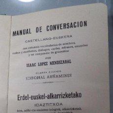 Diccionarios de segunda mano: DICCIONARIO CASTELLANO-EUSKERA,,1962,MUY BUEN ESTADO,ORIGINAL,TELA VERDE,EUSKADI,VER FOTOS. Lote 51370647