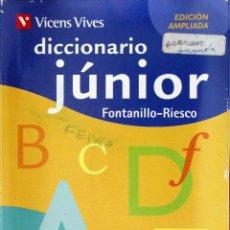 Diccionarios de segunda mano - Vicens Vives diccionario júnior Fontanillo-Riesco - 51384669