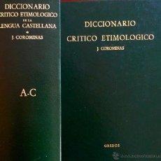 Diccionario etimologico online
