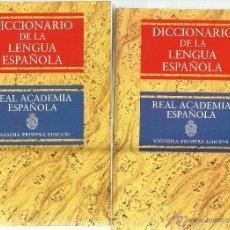 Diccionarios de segunda mano: DICCIONARIO DE LA LENGUA ESPAÑOLA.VIGÉSIMA PRIMERA ED. REAL ACADEMIA ESPAÑOLA. 2 TOMOS. MADRID.1995. Lote 51663998