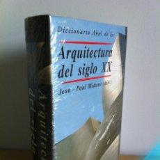 Diccionarios de segunda mano: DICCIONARIO AKAL DE LA ARQUITECTURA DEL SIGLO XX. JEAN-PAUL MIDANT, DIR. ---SIN DESPRECINTAR---NUEVO. Lote 42865465