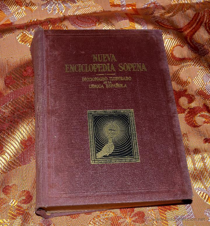 DICCIONARIO ILUSTRADO DE LA LENGUA ESPAÑOLA, NUEVA ENCICLOPEDIA SOPENA,TOMO QUINTO (Libros de Segunda Mano - Diccionarios)