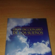 Diccionarios de segunda mano: GRAN DICCIONARIO DE LOS SUEÑOS. Lote 51966336