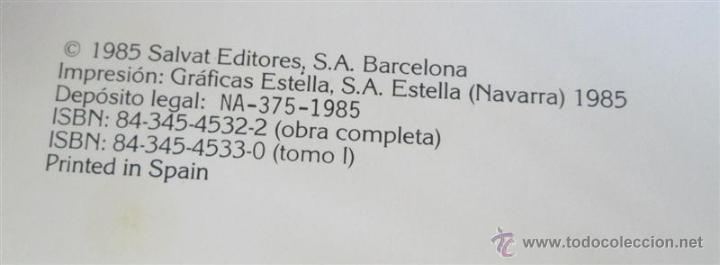 Diccionarios de segunda mano: 26 tomos - DICCIONARIO ENCICLOPEDICO SALVAT - Barcelona, 1985. - Foto 3 - 52617013
