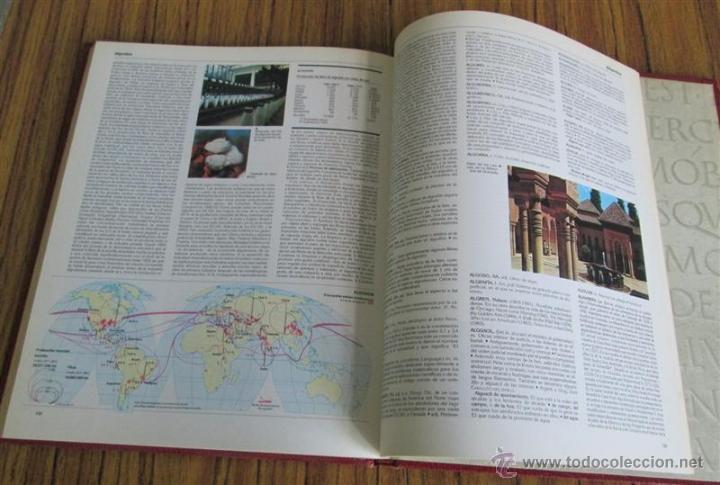 Diccionarios de segunda mano: 26 tomos - DICCIONARIO ENCICLOPEDICO SALVAT - Barcelona, 1985. - Foto 6 - 52617013