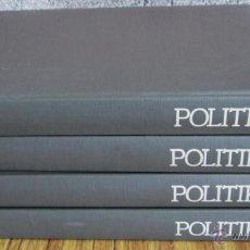 Diccionarios de segunda mano: 4 TOMOS - POLÍTIKA HIZTEGIA - EDICIONES VASCAS ARGITALETXEA - 1980 DICCIONARIO. Lote 183172517