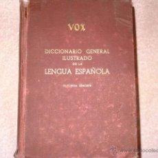 Diccionarios de segunda mano: DICCIONARIO ANTIGUO VOX. Lote 52970715