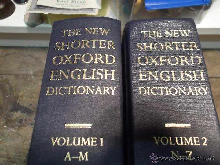 Diccionarios de segunda mano: THE NEW SHORTER OXFORD ENGLISH DICTIONARY (2 VOL.) LESLEY BROWN 1993 diccionario inglés - Foto 2 - 52980392