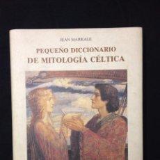 Diccionarios de segunda mano: MITOLOGÍA CÉLTICA. Lote 52997646