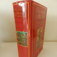 Diccionarios de segunda mano: DICCIONARI D'HISTÒRIA UNIVERSAL. CHAMBERS. (EN CATALÀ) EDICIONS 62 1ª EDICIÓ 1995. Lote 53125681