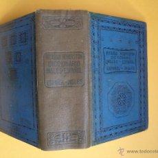 Diccionarios de segunda mano: DICCIONARIO INGLÉS-ESPAÑOL Y ESPAÑOL-INGLÉS. POR ROBERSTON, RICARDO. EDITORIAL RAMÓN SOPENA 1947. Lote 53349332