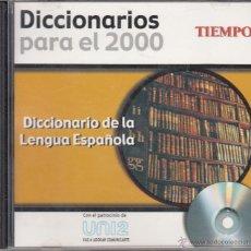 Diccionarios de segunda mano: CD-ROM DICCIONARIO DE LA LENGUA ESPAÑOLA, DICCIONARIOS PARA EL 2000. REVISTA TIEMPO. Lote 53477683