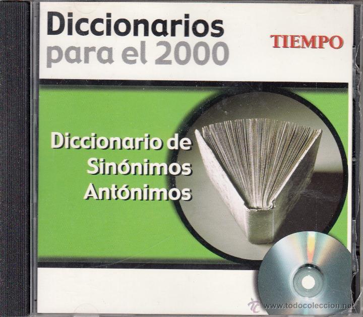 CD-ROM DICCIONARIO DE SINÓNIMOS Y ANTÓNIMOS, DICCIONARIOS PARA EL 2000. REVISTA TIEMPO (Libros de Segunda Mano - Diccionarios)