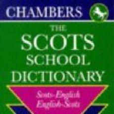 Diccionarios de segunda mano: SCOTS-ENGLISH, ENGLISH-SCOTS SCHOOL DICTIONARY ---- (REF-HAMIMU1CEES1). Lote 53594782