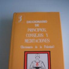 Diccionarios de segunda mano: DICCIONARIO DE LA FELICIDAD - BREVIARIO DEL ÉXITO - JORGE SINTES PROS - EDITORIAL SINTES - 1989. Lote 53944350