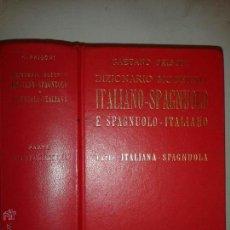 Diccionarios de segunda mano: DIZIONARIO MODERNO ITALIANO - SPAGNULO 1983 GAETANO FRISONI EDITORE ULRICO HOEPLI. Lote 54103689
