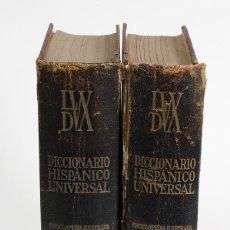 Diccionarios de segunda mano: DICCIONARIO HISPANICO UNIVERSAL - EDICIONES EXITO TOMOS I - II. APROX 1950. Lote 54242201