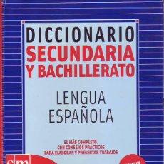 DICCIONARIO SECUNDARIA Y BACHILLERATO LENGUA ESPAÑOLA (SM)