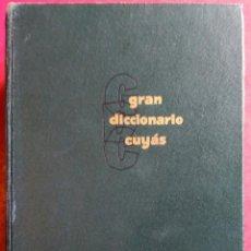 Diccionarios de segunda mano: GRAN DICCIONARIO CUYÁS INGLÉS - ESPAÑOL . SPANISH - ENGLISH. Lote 54636382
