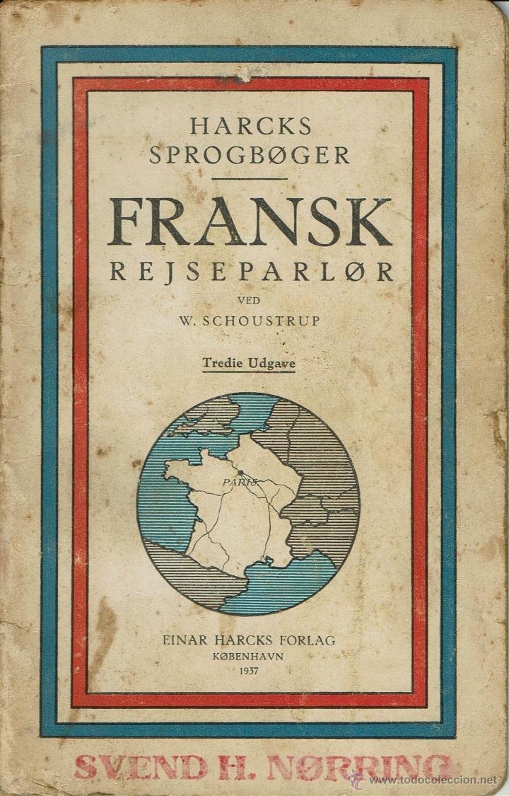 Libro dan s de frases en franc s harcks sprogb comprar for Menaje segunda mano