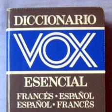 Diccionarios de segunda mano: DICCIONARIO VOX ESENCIAL FRANCÉS-ESPAÑOL ESPAÑOL-FRANCÉS. Lote 55114067
