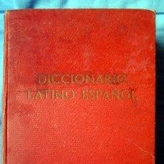 Diccionarios de segunda mano: DICCIONARIO LATINO - ESPAÑOL DE EDELVIVES. Lote 56087861