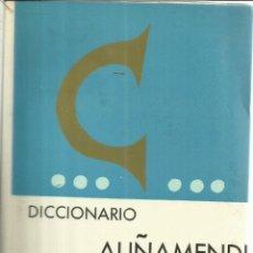 Diccionarios de segunda mano: DICCIONARIO ESPAÑOL-VASCO. AUÑAMENDI. SAN SEBASTIAN. 1968. Lote 56114811