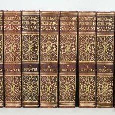 Diccionarios de segunda mano: 7386 - DICCIONARIO ENCICLOPÉDICO SALVAT. 12 VOLUM(VER DESCRIP). 1962.. Lote 56224692