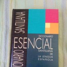 Diccionarios de segunda mano: DICCIONARIO ESENCIAL SANTILLANA. 1ª EDICION, SEGUNDA REIMPRESIÓN. ABRIL, 1993. Lote 56323087