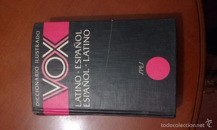 DICCIONARIO ILUSTRADO VOX LATINO-ESPAÑOL / ESPAÑOL-LATINO (Libros de Segunda Mano - Diccionarios)