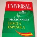 Diccionarios de segunda mano: DICCIONARIO UNIVERSAL DE LENGUA ESPAÑOLA. RM74358. . Lote 56527975