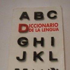 Diccionarios de segunda mano: DICCIONARIO DE LA LENGUA. RMT74495. . Lote 56587478